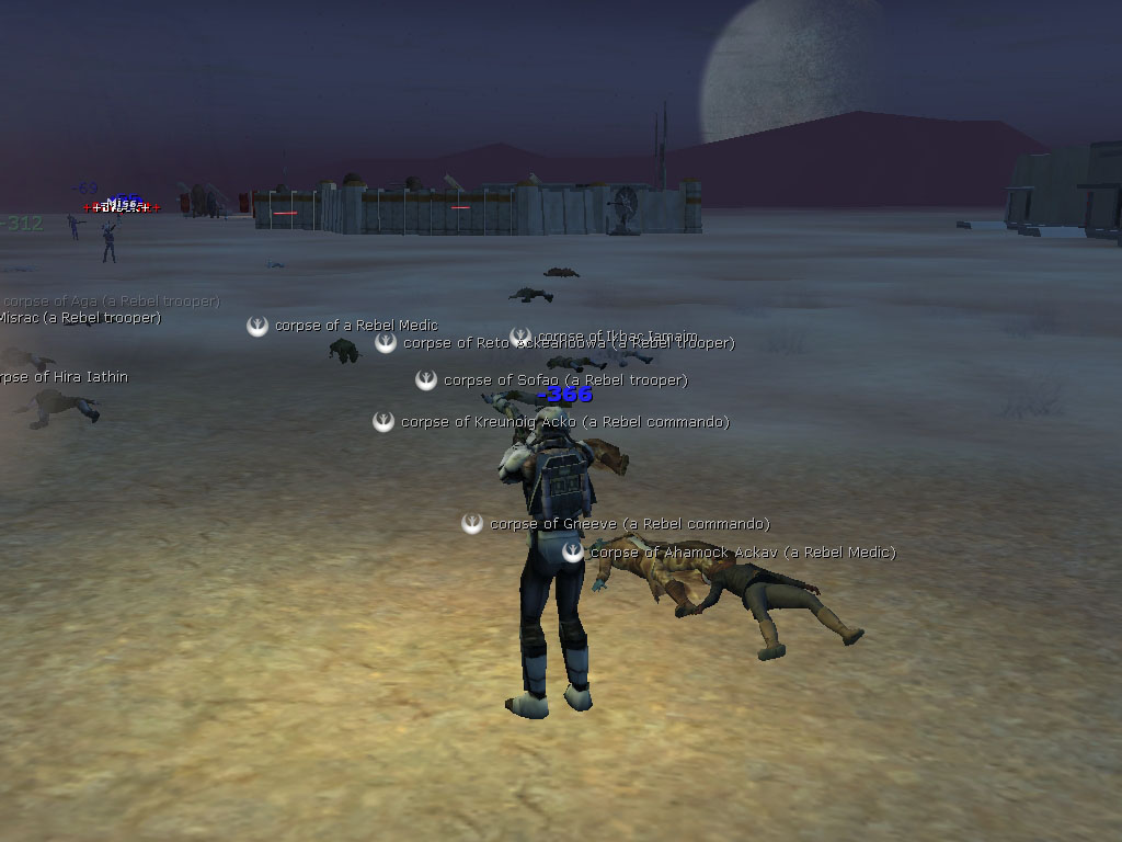 Star Wars Galaxies - Attack!