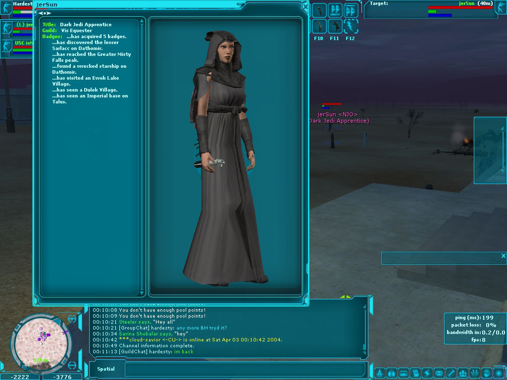 Star Wars Galaxies - Dark Jedi
