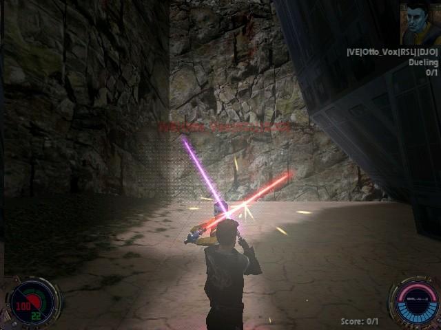 JKII: Jedi Outcast - Saber Lock