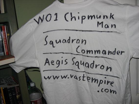 Allegiance - Back of Chip's shirt