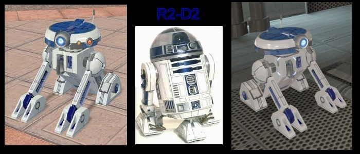 Star Wars Galaxies - R2D2