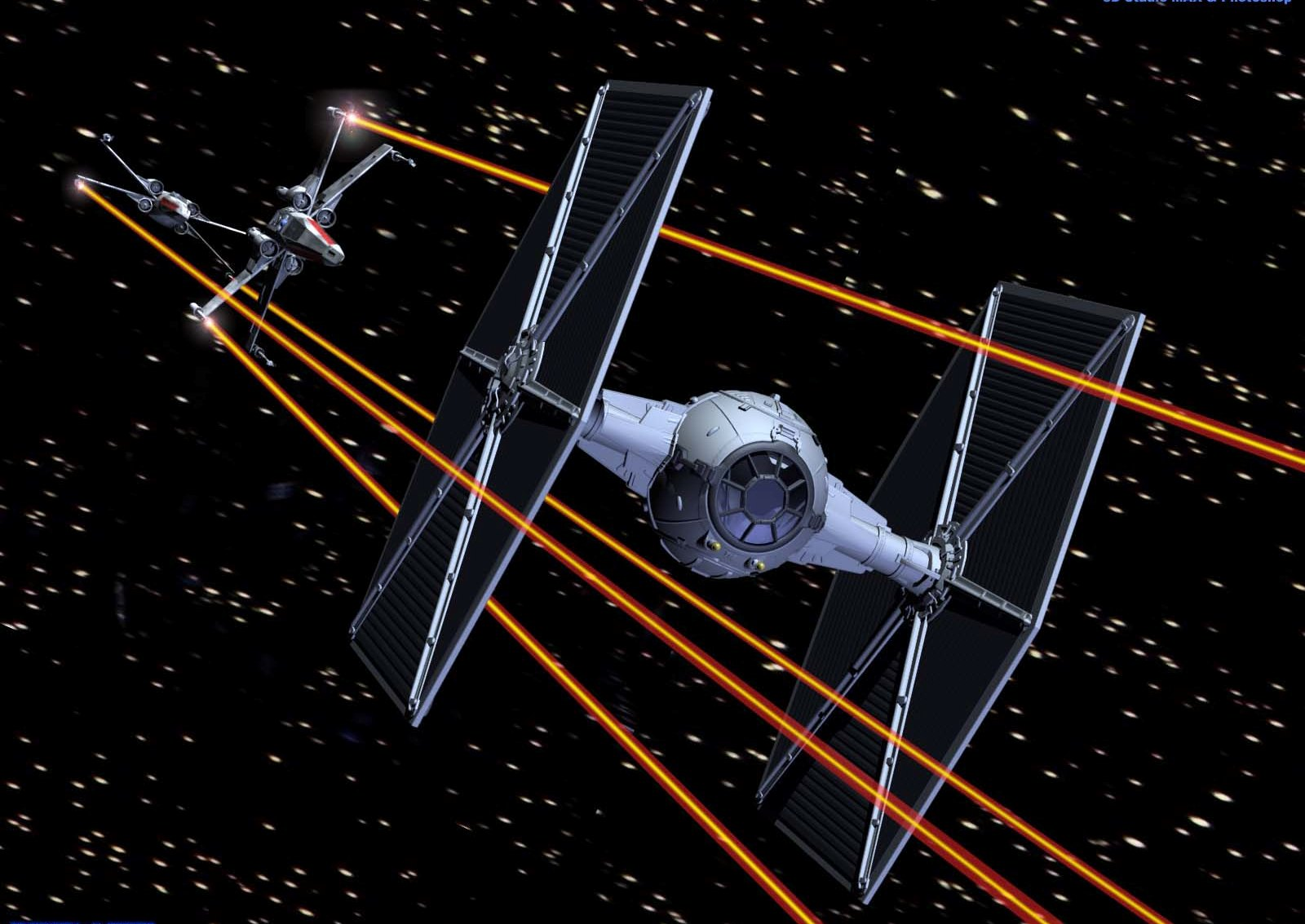 X-Wing Vs. TIE Fighter - The Battle Right Now