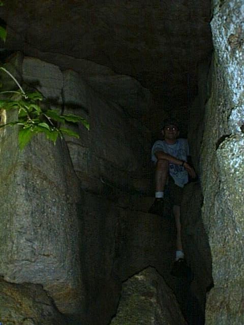 Allegiance - Cave entrance