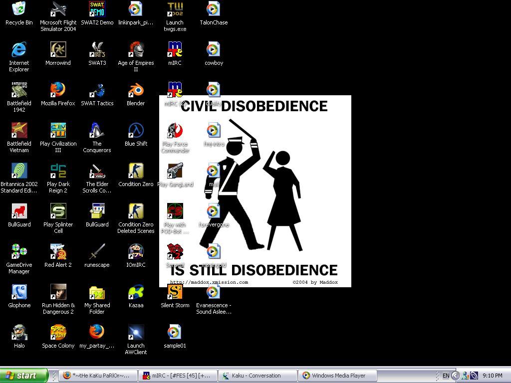 Allegiance - Tekku's Desktop