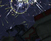 Star Wars Galaxies - Fireworks at SF