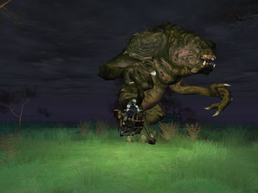 Star Wars Galaxies - Rancor