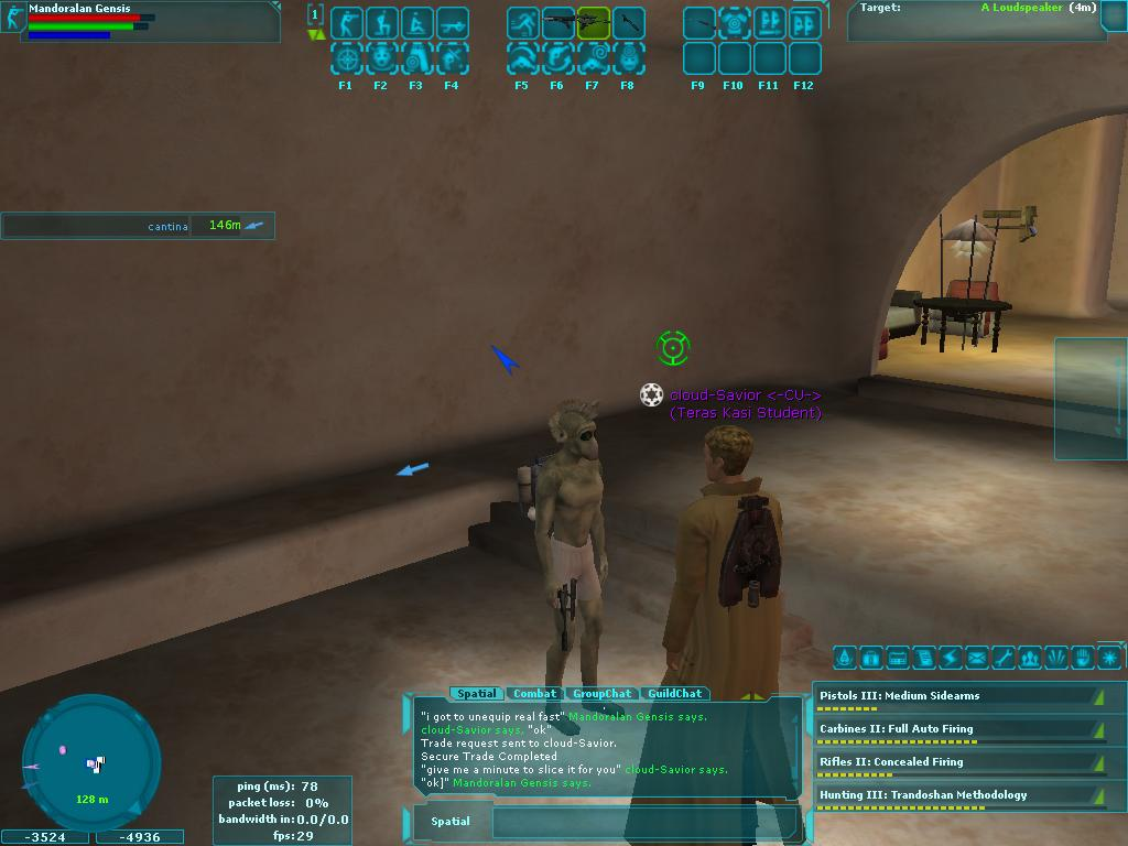 Star Wars Galaxies - Stripping